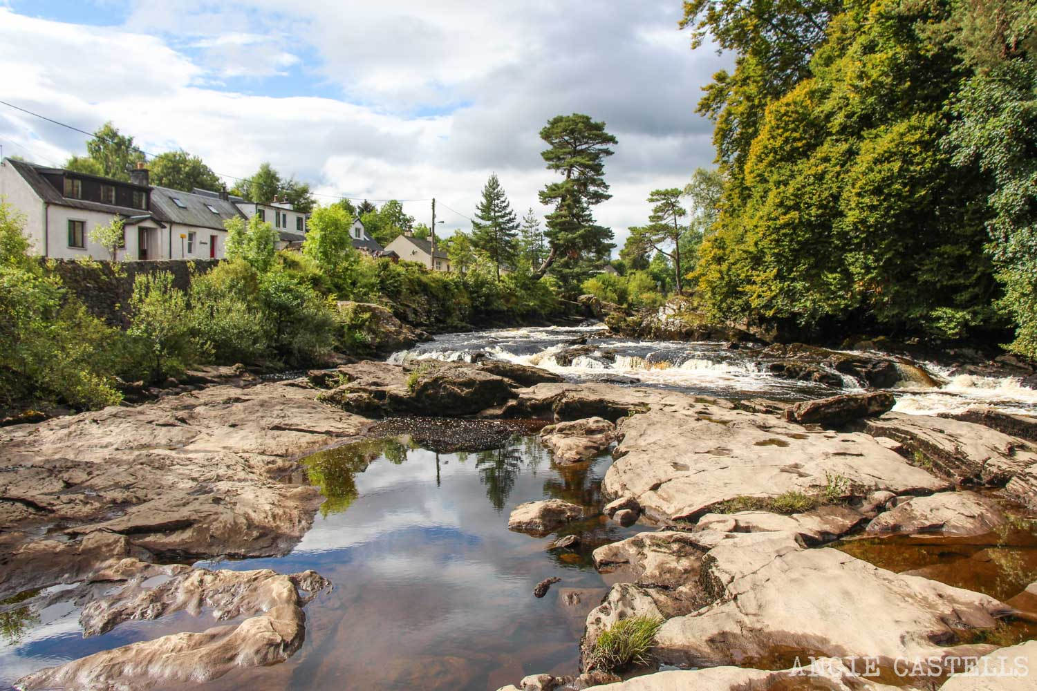 Ruta por las Highlands de Escocia: Killin y las Falls of Dochart