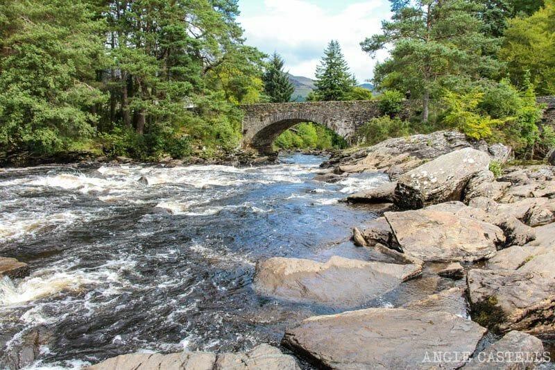 Visitar Killin y Falls of Dochart Highlands Escocia