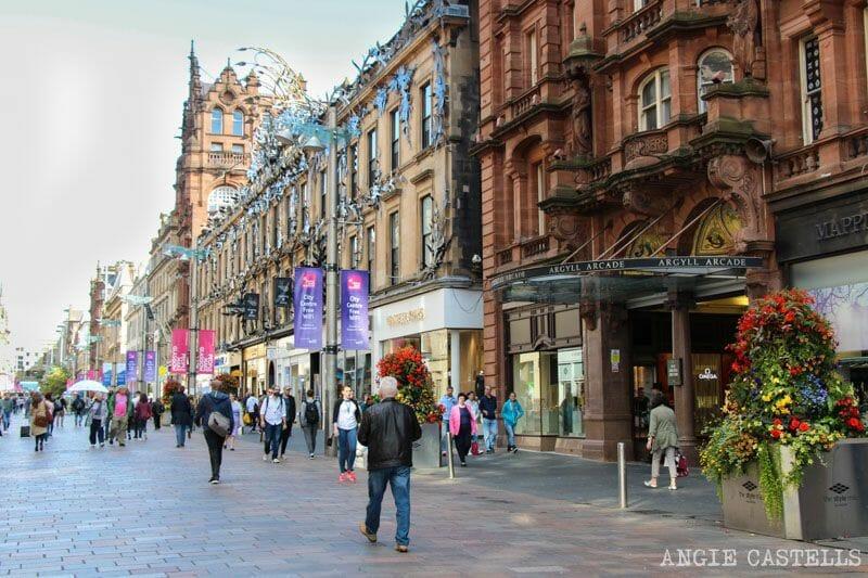 Guia de Glasgow Que ver en un dia Ruta Buchanan St
