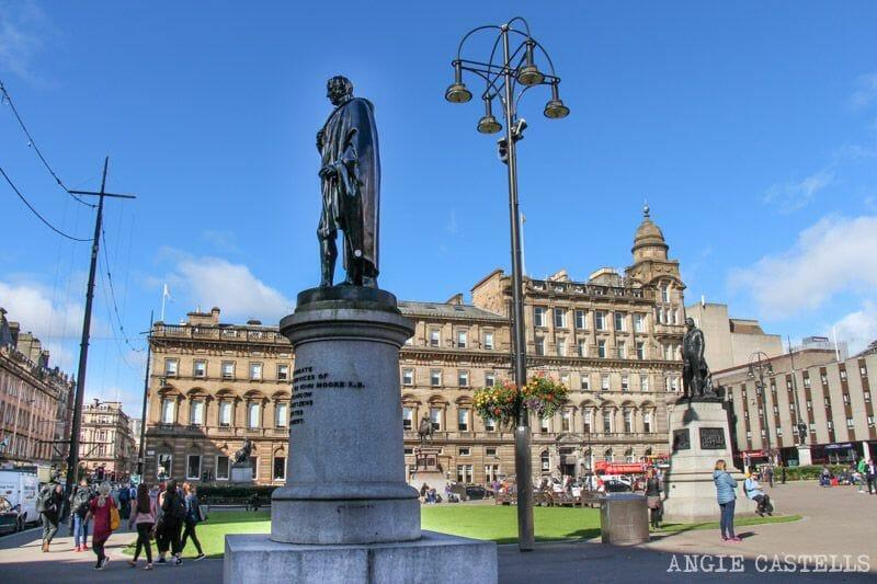 Guía de Glasgow: qué ver en un día y ruta - George Square