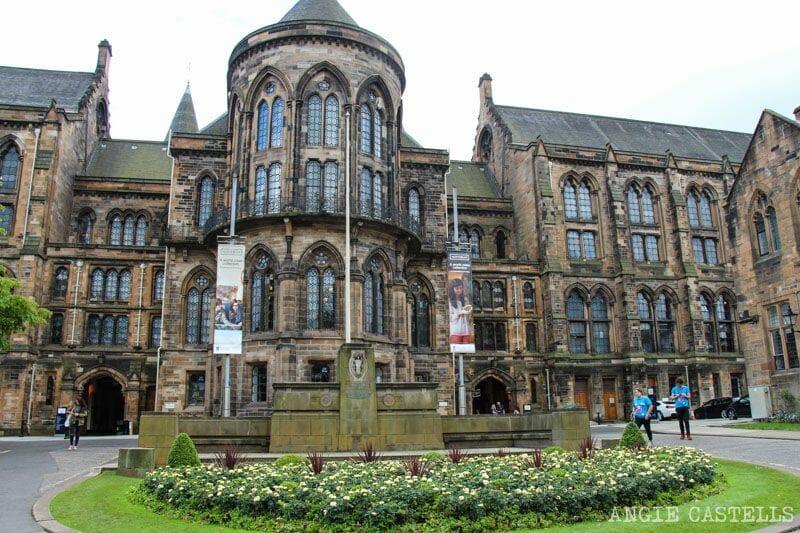 Guía de Glasgow: qué ver en un día y ruta - University of Glasgow
