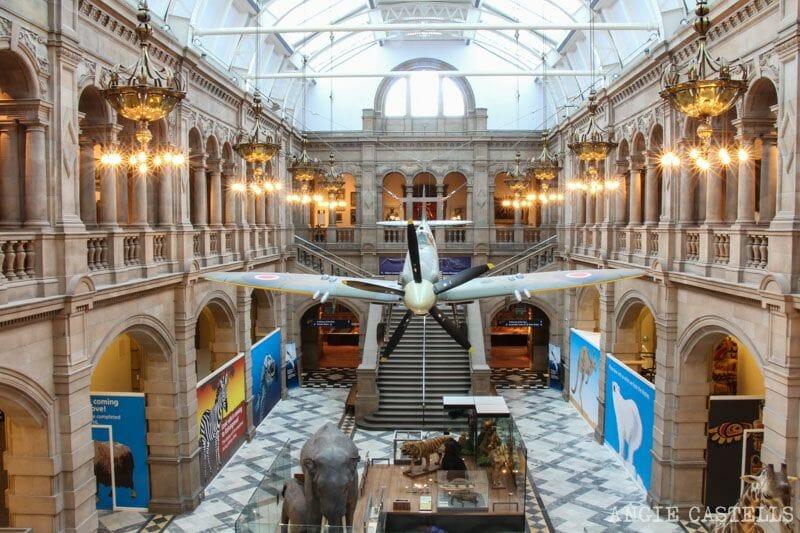 Guía de Glasgow: qué ver en un día y ruta - Museo Kelvingrove