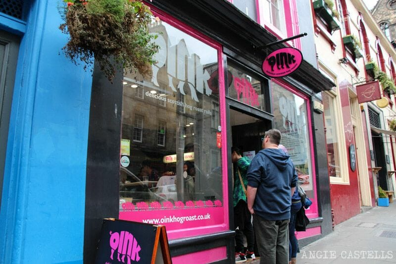Donde comer en Edimburgo mejores restaurantes Oink
