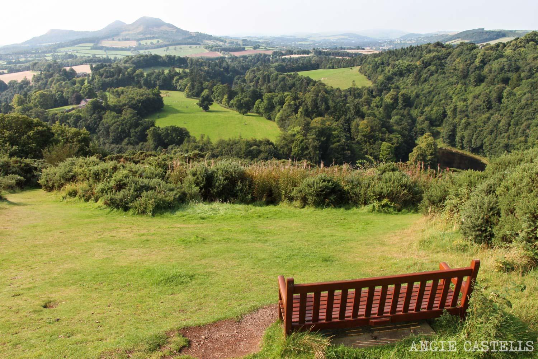 Ruta por los Borders de Escocia - El mirador Scott's View