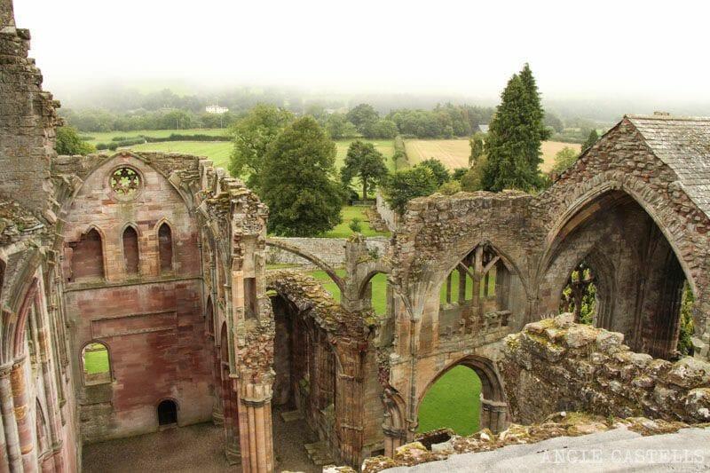 Ruta por Escocia Borders Abadia de Melrose