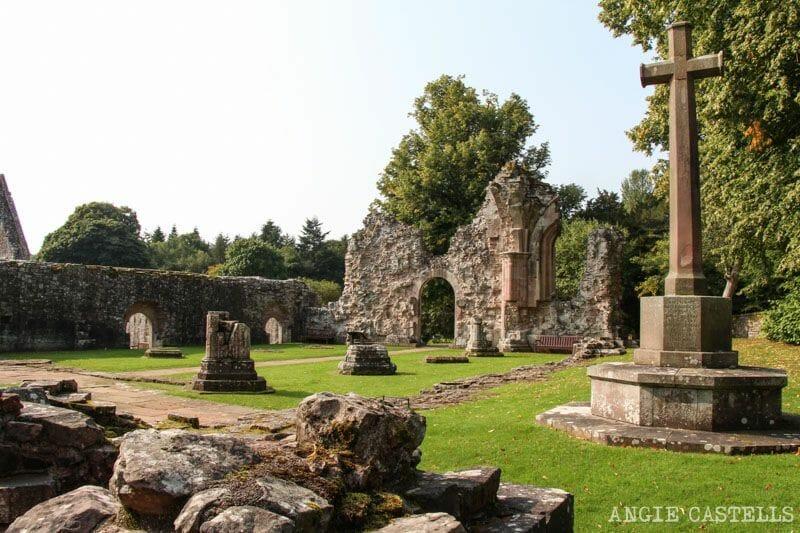 Ruta por los Borders de Escocia - Abadía de Dryburgh