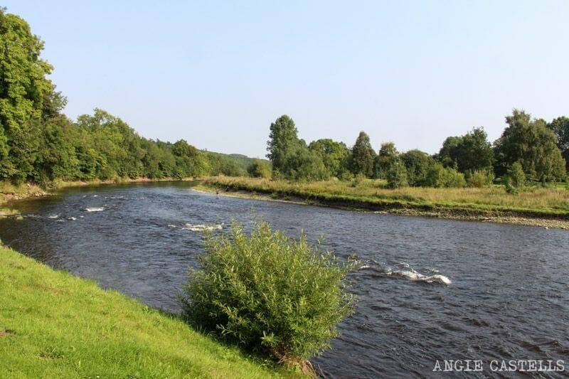 Ruta por los Borders de Escocia - Dryburgh y río Tweed