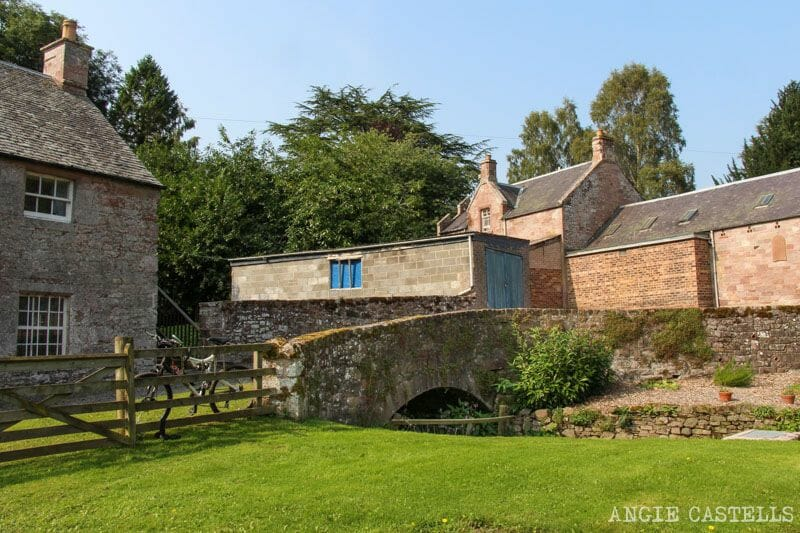 Ruta por Escocia Borders abadia de Dryburgh