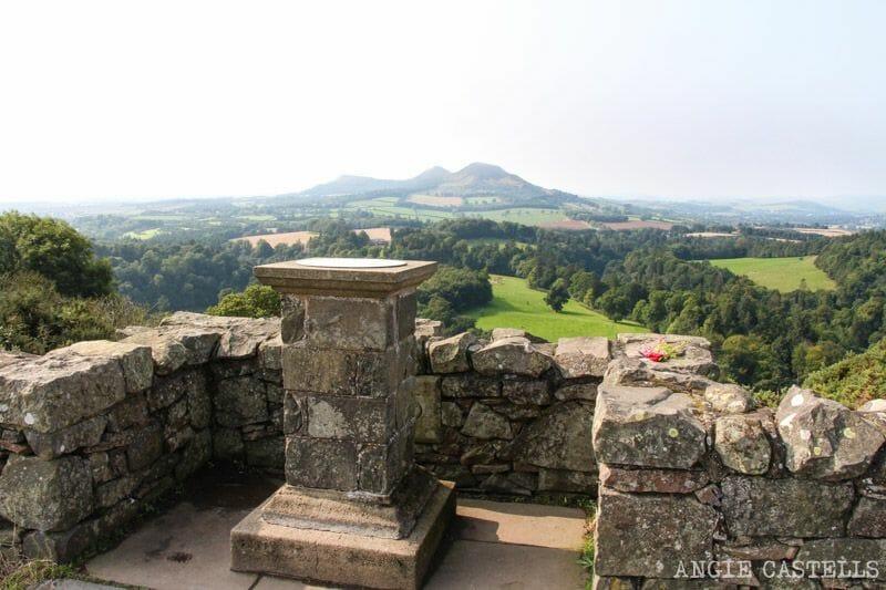 Ruta por los Borders de Escocia - Mirador Scott's View