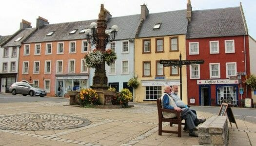Ruta por los Borders de Escocia: abadías y pueblos