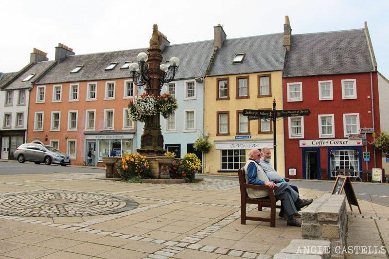 Ruta por Escocia Borders Jedburgh