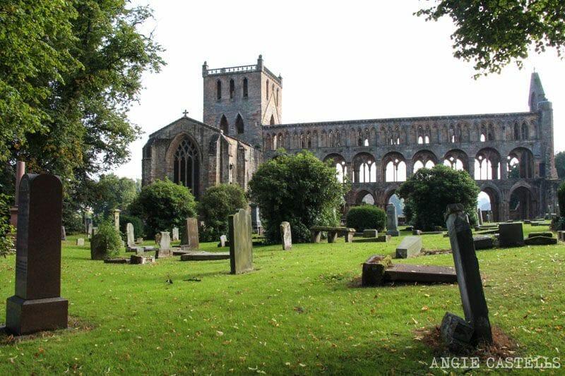 Ruta por los Borders de Escocia - Jedburgh Abbey