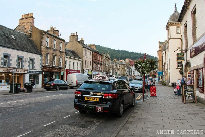 Ruta por los Borders de Escocia - Peebles