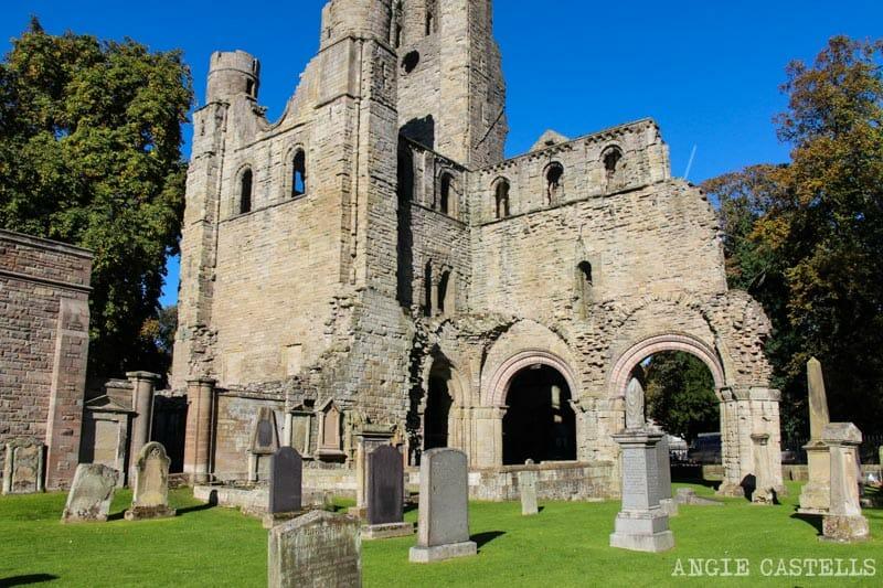 Las abadías de los Borders de Escocia - Kelso Abbey
