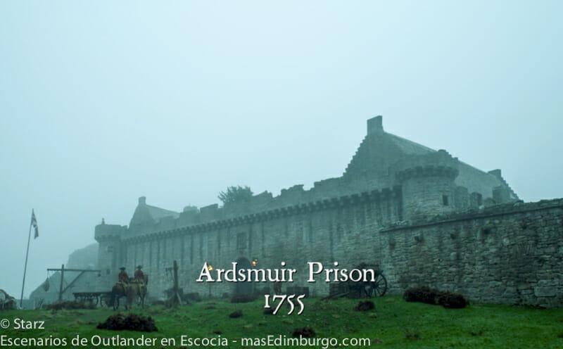 Lugares de rodaje de Outlander en Edimburgo - El Castillo de Craigmillar