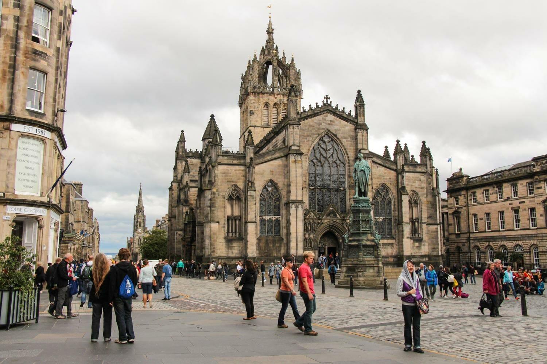 Qué hacer gratis en Edimburgo: visitar la iglesia de St Giles