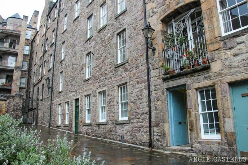 Escenarios de Outlander Edimburgo Tweedale Court Royal Mile 2