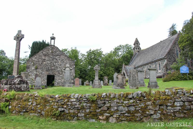 Visitar Balquhidder tumba Rob Roy Escocia