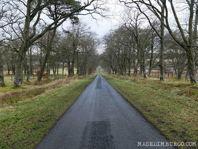 Ruta Pentlands Edimburgo Senderismo Threipmuir Reservoir
