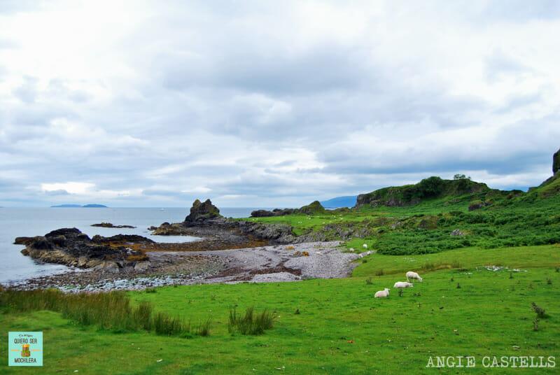 Rincones secretos Escocia Kerrera Island