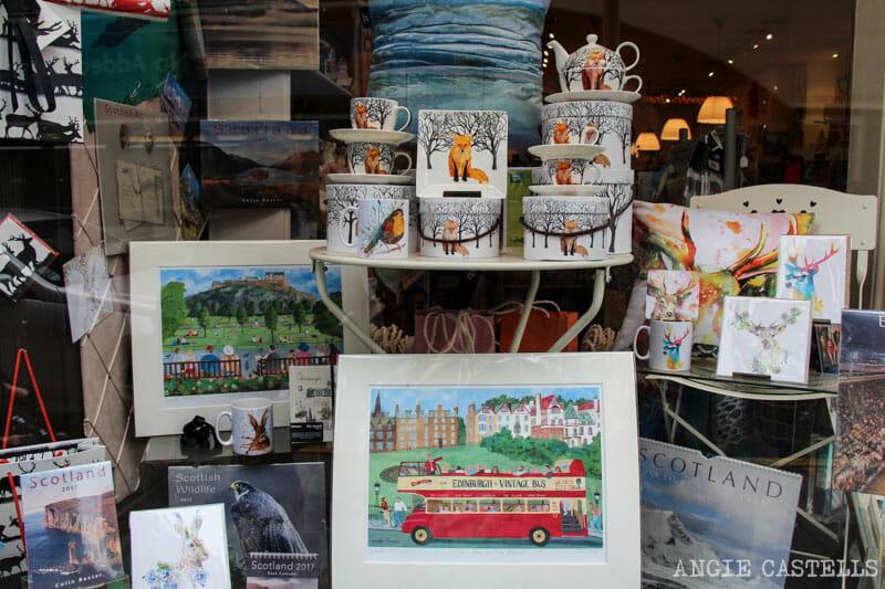Mejores tiendas Edimburgo para regalos originales