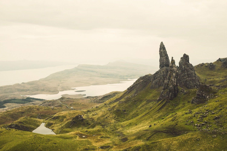 Escenarios de cine en Escocia: el Old Man of Storr