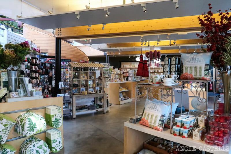 La tienda del Jardín botánico de Edimburgo