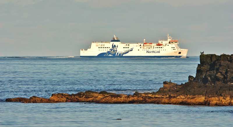 Preparativos para viajar a las islas Orkney y Shetland - El ferry de NorthLink