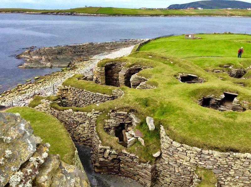 Preparativos para viajar a las islas Orkney y Shetland - Jarlshof