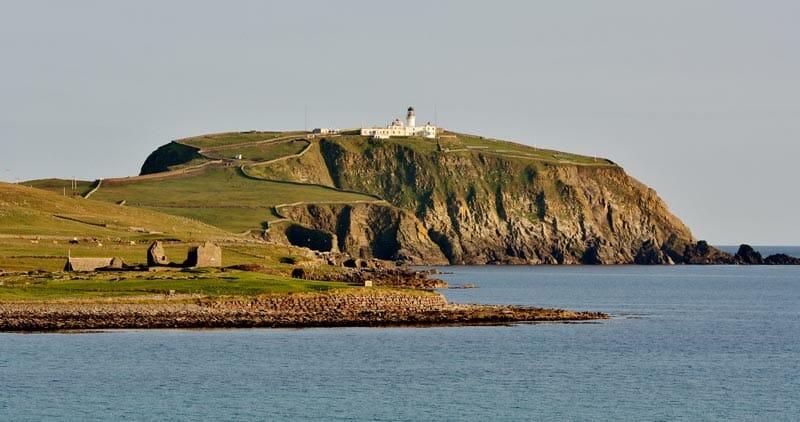 Preparativos para viajar a las islas Orkney y Shetland - El faro de Sumburgh Head