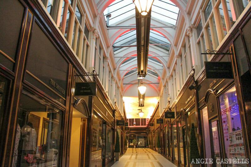 Guía de Stirling: qué ver en un día - Stirling Arcade