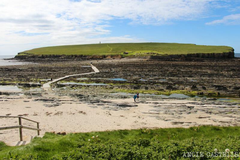 Ruta islas Orcadas Que ver en Orkney Brough of Birsay