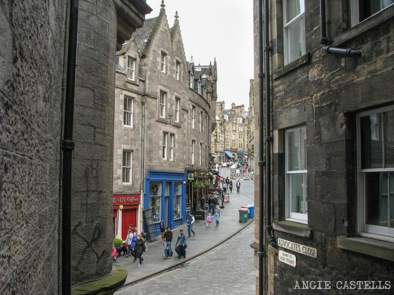 Mejores callejones Royal Mile Edimburgo Advocates Close