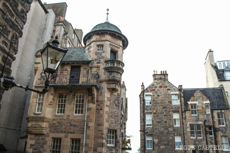 Mejores callejones Royal Mile Edimburgo Lady Stairs Close