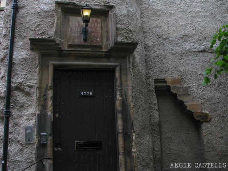 Mejores callejones Royal Mile Edimburgo Lady Stairs Close