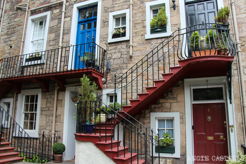Mejores callejones Royal Mile Edimburgo Ramsay Garden