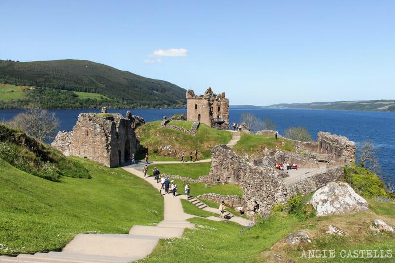 Visitar Inverness Que ver Castillo de Urquhart Lago Ness