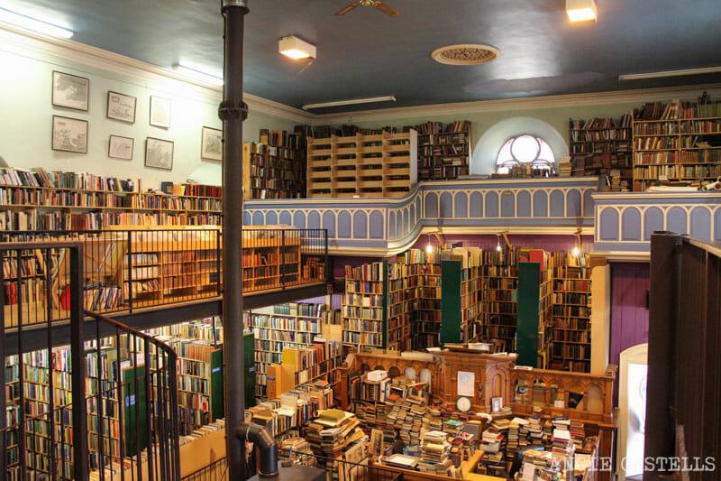 Qué ver en Inverness: Leakys Bookstore, la mejor librería de Escocia