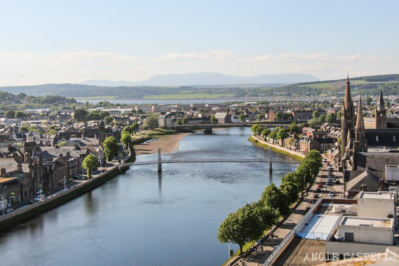Qué ver en Inverness en un día: el observatorio del Inverness Castle