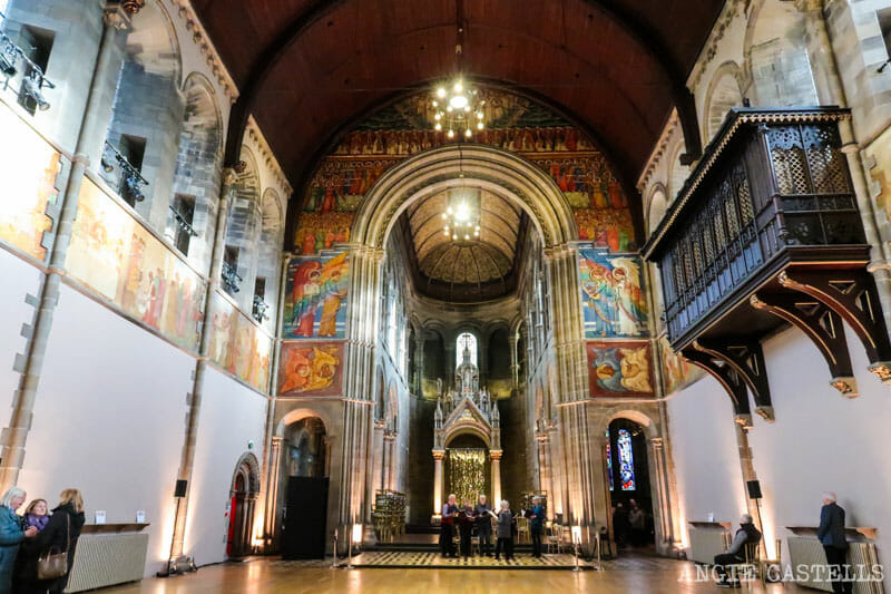 Mansfield Traquair, la Capilla Sixtina de Edimburgo