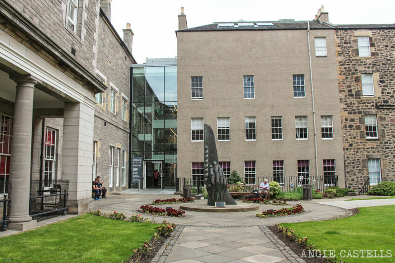 Rincones secretos Edimburgo museo Surgeons Hall Museum