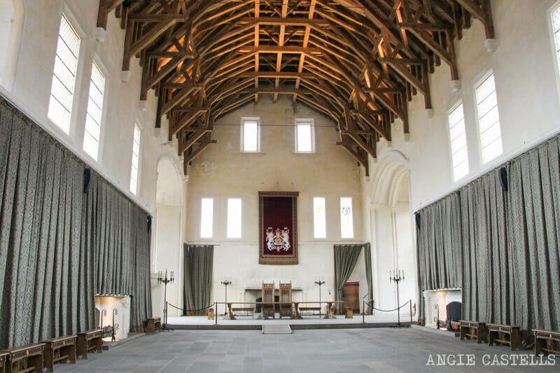 Visitar-castillo-de-Stirling-Curiosidades-Stirling-Castle comedor