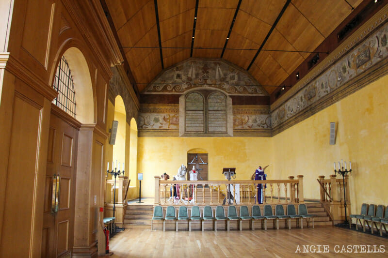 Visitar-castillo-de-Stirling-Curiosidades-Stirling-Castle capilla
