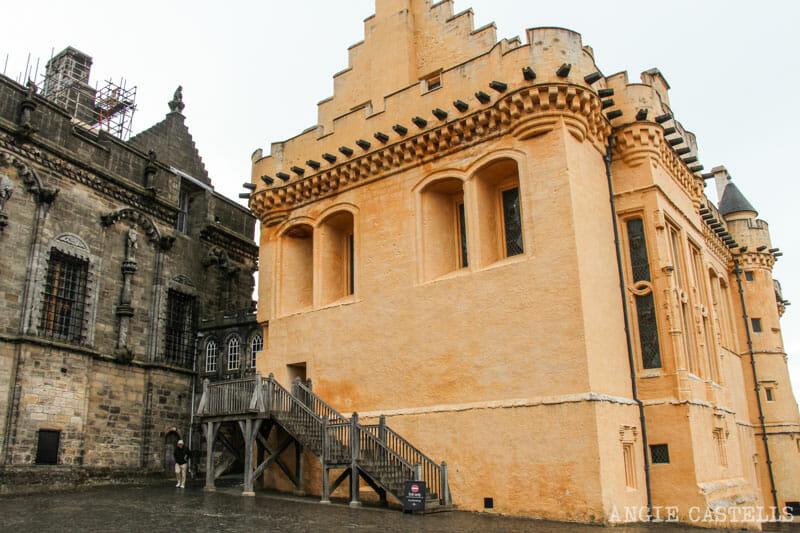 Visitar el castillo de Stirling Curiosidades del Stirling Castle