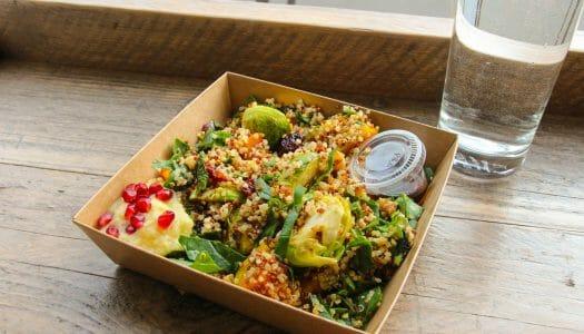 Dónde comer vegetariano o vegano en Edimburgo