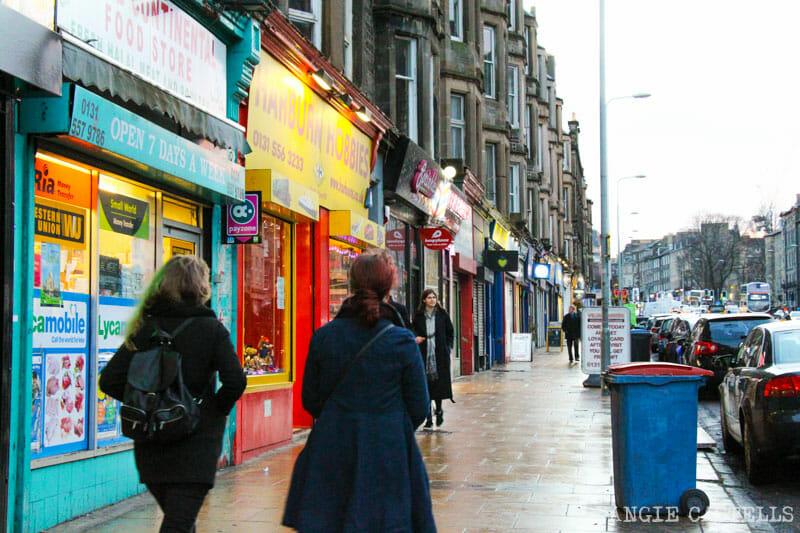 Los barrios de Edimburgo - Leith y Leith Walk