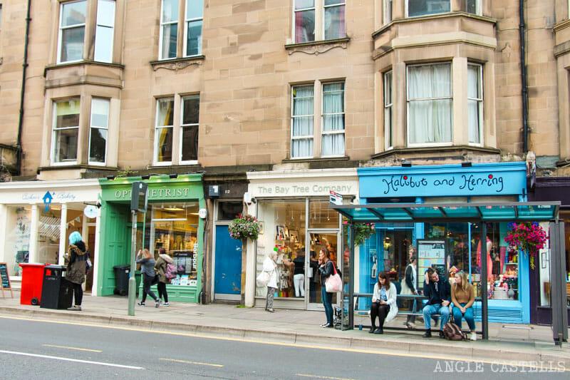 Los barrios de Edimburgo - Bruntsfield