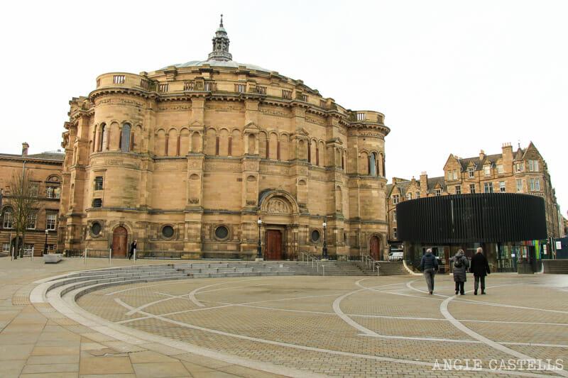 Los barrios de Edimburgo - University of Edinburgh y McEwan Hall