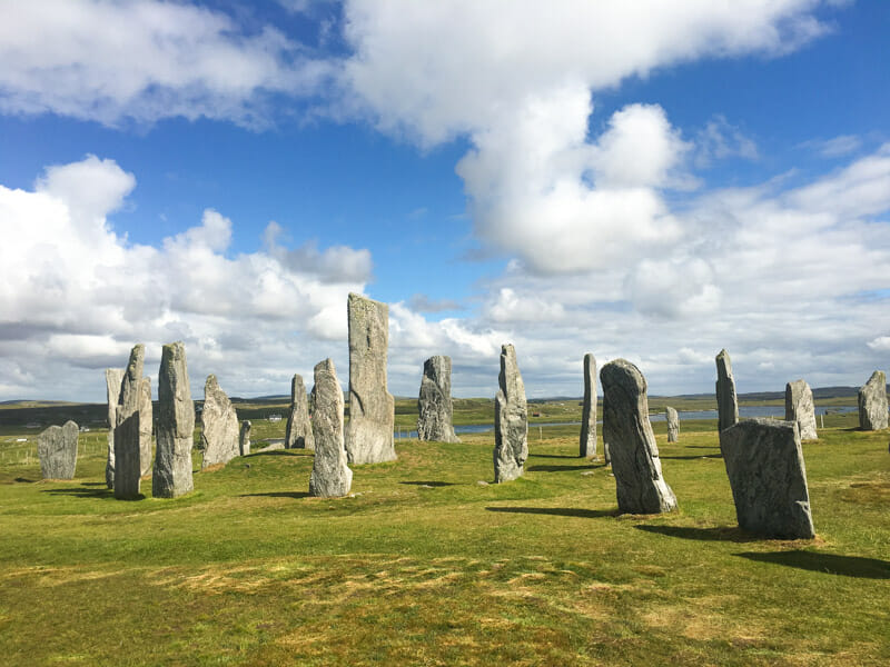 Preparativos para viajar a Lewis y Harris y las Hébridas Exteriores - Callanish Standing Stones