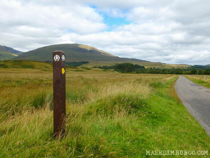 Preparativos para recorrer la West Highland Way - De Bridge of Orchy a Fort William